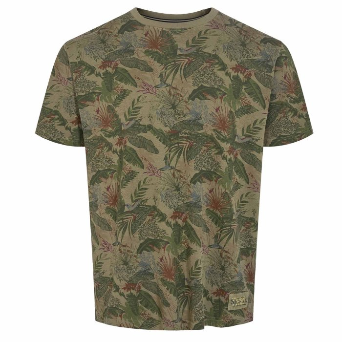 Signal - Signal - Kongo Hawaii Pique | T-shirt Green Platan
