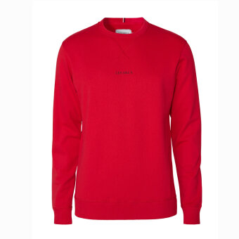 LES DEUX - Les Deux - Lens | Sweatshirt Red Black