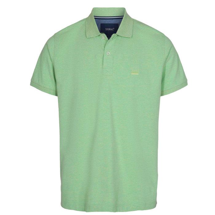 Signal - Signal - Nicky SP20   Polo T-shirt Green grass mel