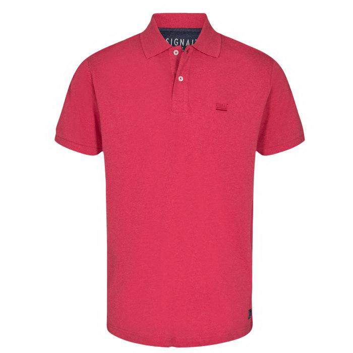 Signal - Signal - Nicky SP20 | Polo T-shirt Poppy Red