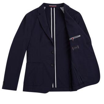 Tommy Hilfiger  - Tommy Hilfiger - THFlex Tailored Jacket | Habitjakke Desert Sky