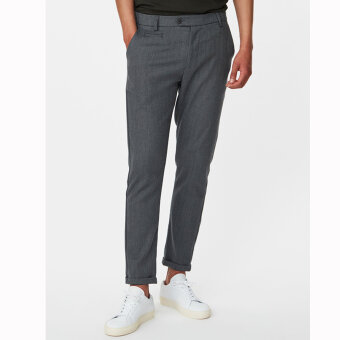 LES DEUX - Les Deux - Como Herringbone Suit Pants | Chino light grey