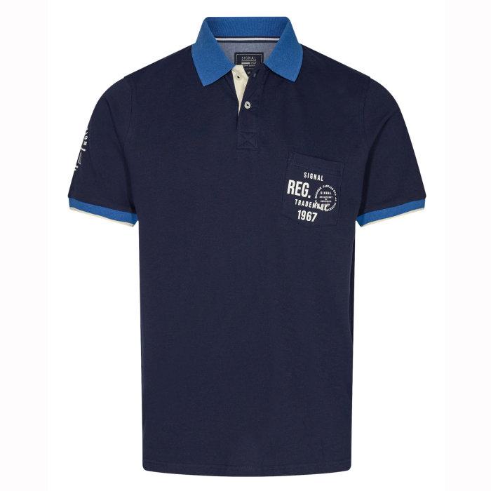 Signal - Signal - Pingo Polo SP20 | Polo T-shirt Duke Blue