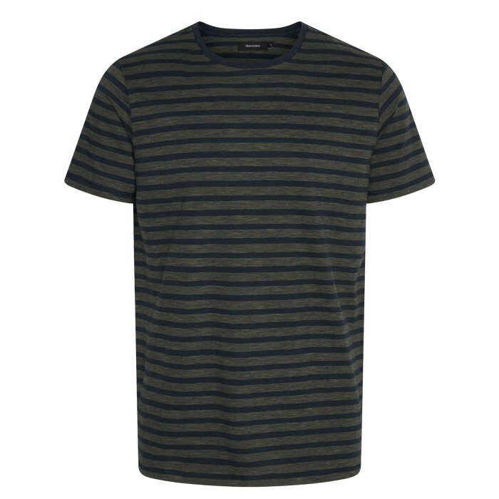 Matinique - Matinique - Jermane Mini Stripe | T-shirt Ivy Green
