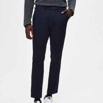 Selected - Selected - Miles Flex | Chino Dark Sapphire