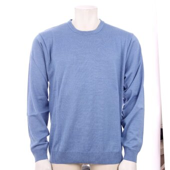 Cosby - Cosby - O-hals Pullover | Strik Light Blue