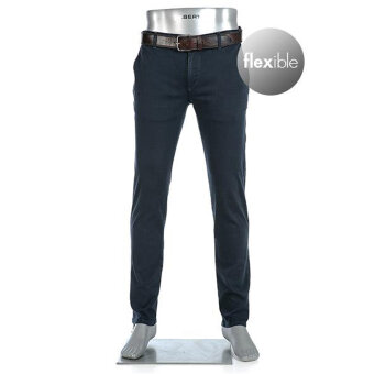 Alberto - Alberto - Rob T400 | Slim Fit Chino 1283 890 Blå