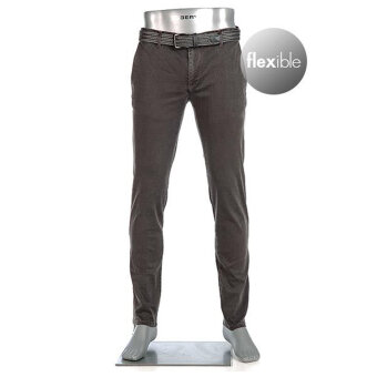 Alberto - Alberto - Rob T400 | Slim Fit Chino 1283 580 Brown