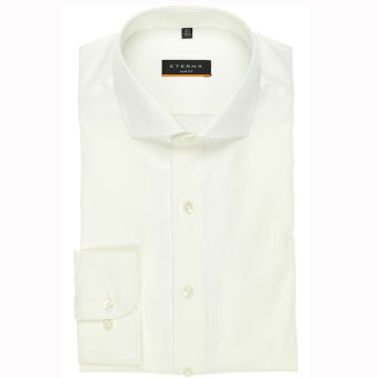 Eterna - Eterna - Cover Shirt S | Slim fit Beige