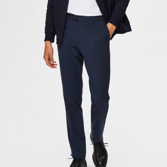 Selected - Selected - Carlo Flex Pants | Dark Navy
