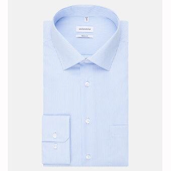 Seidensticker  - Seidensticker - 193640 | Regular Skjorte 11 Lyseblå