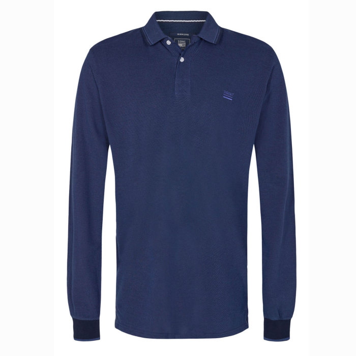 Signal - Signal - Reef Structure | Polo T-shirt Duke Blue Melange