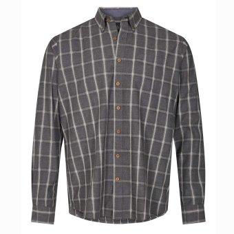 Signal - Signal - Hansen Check F20 | Skjorte Grey Melange