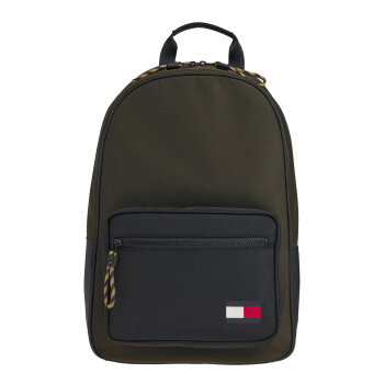 Tommy Hilfiger  - Tommy Hilfiger - Flag Backpack | Camo Green
