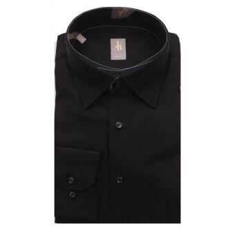 Jacques Britt - Jacques Britt - 632420 | Custom fit skjorte 39 Sort
