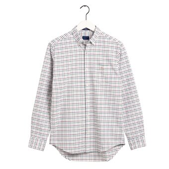 Gant - Gant - Beefy Oxford Check | Skjorte Ivy Green