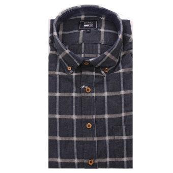 Signal - Signal - Hansen Check F20 | Skjorte Washed Blue