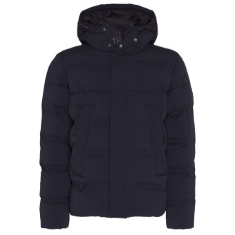 Tommy Hilfiger  - Tommy Hilfiger - Padded Hooded Stretch Bomber | Vindjakke Black