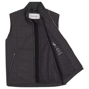 Calvin Klein  - Calvin Klein - Heathered Puffer Gilet | Vest Dark Grey