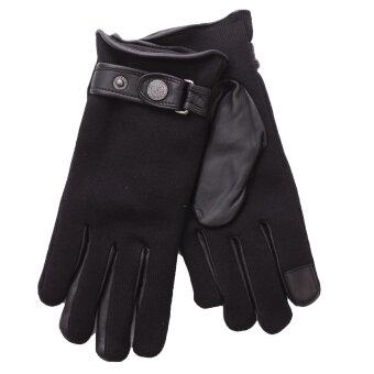 Randers Handskefabrik - Randers Handsker | 404958 | Leather/knit Handske Sort