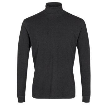 Signal - Signal - Oswald Single | Rullekrave T-shirt Dark Grey Melange