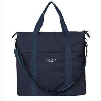LES DEUX - Les deux - Travis Tote Bag | Taske Dark Navy