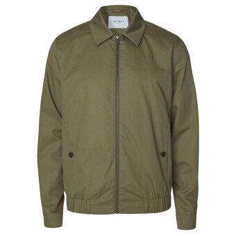 LES DEUX - Les Deux - Moriis herrington jacket | Jakke Lichen Green