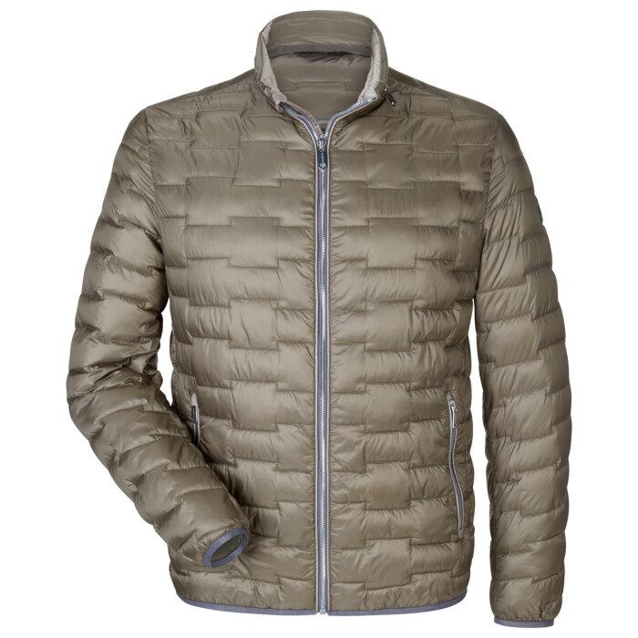 Milestone - Milestone - Cortez jacket   Vindjakke Middlebrown