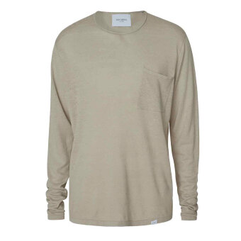 LES DEUX - Les Deux - Evan linen sweater | Hørtrøje Mirage Gray