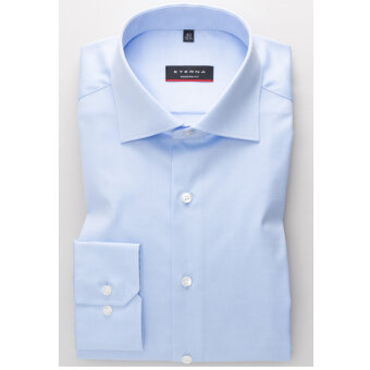 Eterna - Eterna - 8817 M | Modern Fit Skjorte 10 Lyseblå