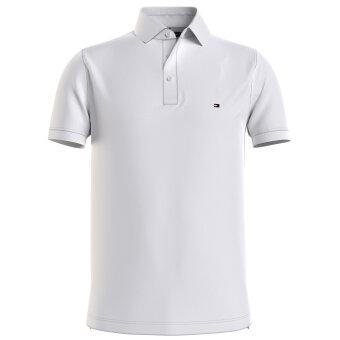 Tommy Hilfiger  - Tommy Hilfiger - 1985 slim polo | Polo T-shirt White
