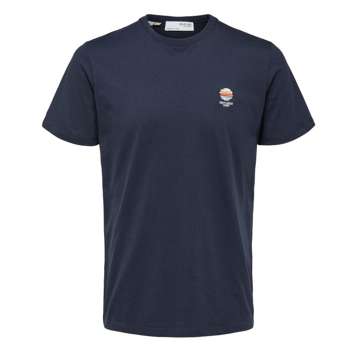 Selected - Selected - Fate camp tee ss   T-shirt Sky Captain