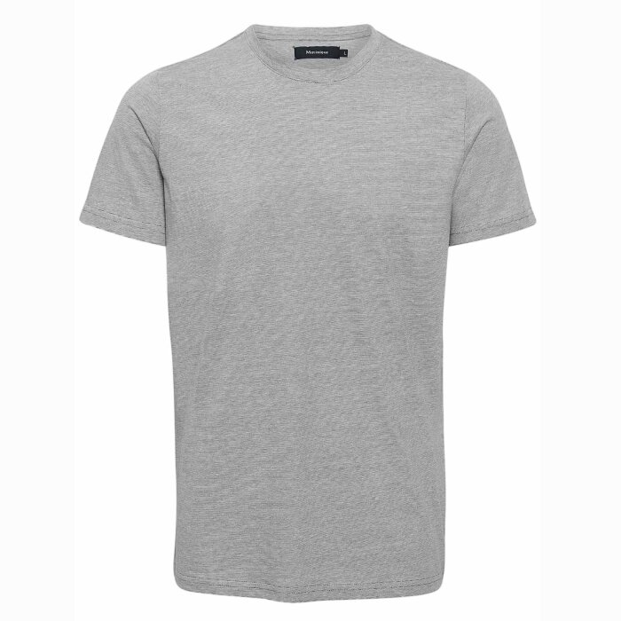 Matinique - Matinique - Jermane stripe tee   T-shirt Dark Navy