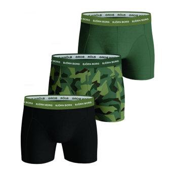 Bjørn Borg - Bjørn Borg - 3-pack shorts | Tights Duck Green