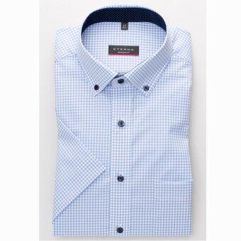 Eterna - Eterna - 8913 M | K/Æ Modern Fit Skjorte 12 Blå