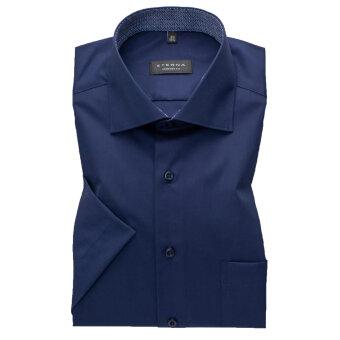 Eterna - Eterna - 3017 C | K/Æ Comfort Fit Skjorte 19 Marine