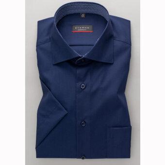 Eterna - Eterna - 3017 M | K/Æ Modern fit skjorte 19 Marineblå