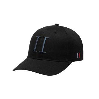 LES DEUX - Les Deux - Encore baseball cap | Kasket Sort/Blå