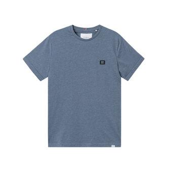 LES DEUX - Les Deux - Piece tee | T-shirt CHINA BLUE MELANGE