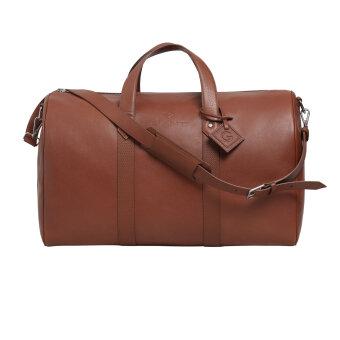 Gant - Gant - Leather weekend bag | Taske Clay brown