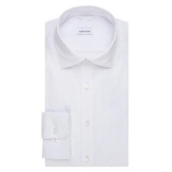 Seidensticker  - Seidensticker - 150400 Perfomance shirt | Regular fit Skjorte 1 Hvid
