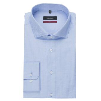 Seidensticker  - Seidensticker - 119487 Light Kent | Regular fit Skjorte 12 Blå