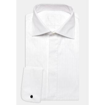 Oscar Jacobson - Oscar Jacobson - Hyde Tuxedo | Smoking Skjorte Hvid