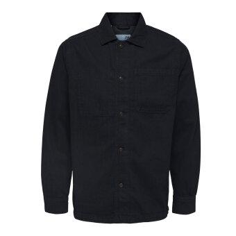 Selected - Selected  - Oscar denim | Overshirt Blue black denim