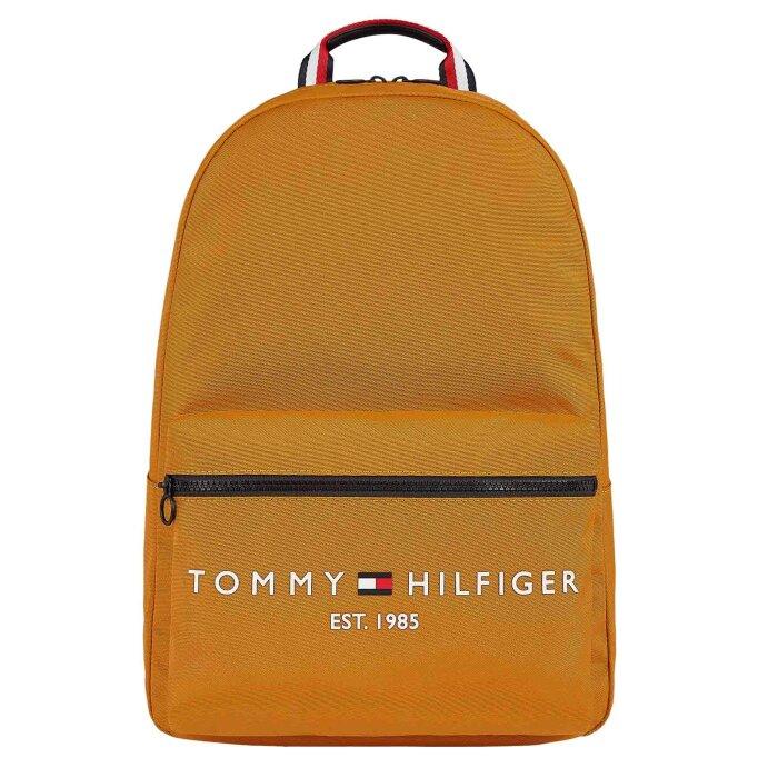 Tommy Hilfiger  - Tommy Hilfiger - Est. backpack   Rygsæk Crest gold
