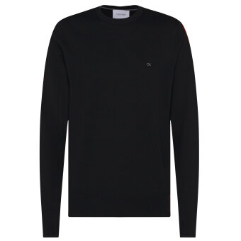 Calvin Klein  - Calvin Klein - Wool crew | Strik Sort