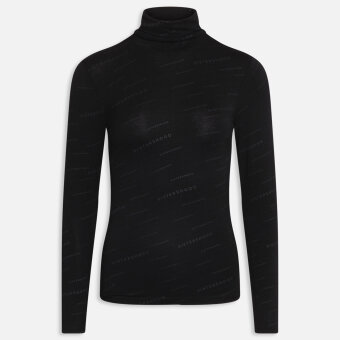 Sisters Point ( Dame ) - SISTERS POINT - HASA-LS | BLOUSE BLACK