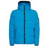Calvin Klein  - Calvin Klein - Crinkle nylon puffa jacket   Vindjakke Blue Aster