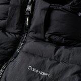 Calvin Klein  - Calvin Klein - Crinkle nylon puffa jacket   Vindjakke Black