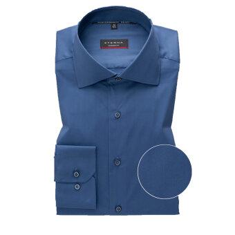 Eterna - Eterna - 3377 X   Modern fit Skjorte 07 Blå